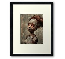 I am not a toy... Framed Print