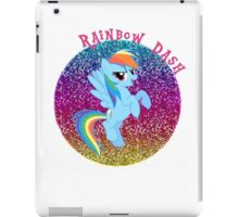 RainbowDashGlitter iPad Case/Skin