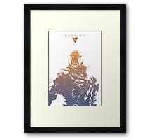 Destiny Warlock Framed Print