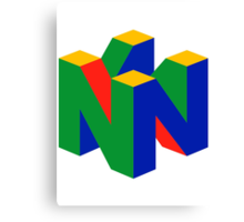 Nintendo 64 Canvas Print