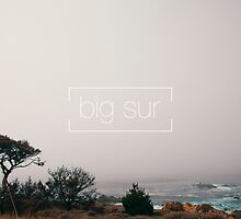 A misty day in Big Sur by nicklaslarka