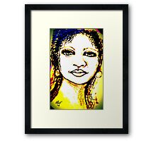 Look in the Mirror, Make a Change Framed Print