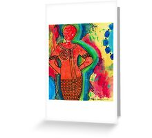She's a SUPER Woman Greeting Card