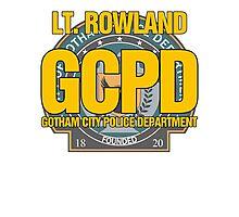 Custom Gotham Police - Rowland Photographic Print