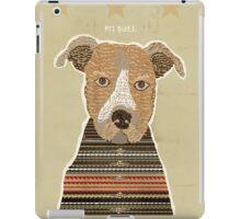 pit bull days iPad Case/Skin