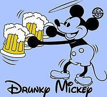 Drunky Mickey by sick-boy