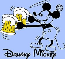 Drunky Mickey by sick-boy
