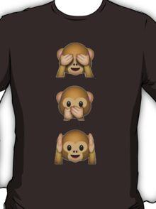 monkey emojis ♡ T-Shirt
