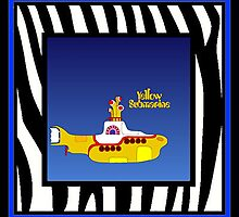 PETER MAX YELLOW SUBMARINE by JACKDON