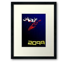 Spoder-Man 2099 Framed Print