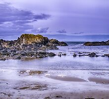 Rocks at Ballintoy by Alan Campbell