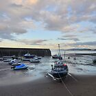 Exmoor: Low Tide at Minehead Harbour by Rob Parsons