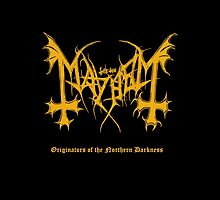 Mayhem - Originators of Northern Darkness (tribute) by blasphemyth