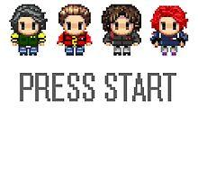 MCR - PRESS START by xofebruary