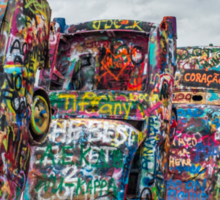 cadillac ranch Sticker