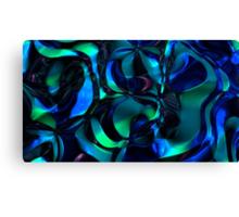Spacetime Flow II Canvas Print