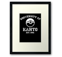 University of Kanto Framed Print