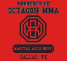 Octagon MMA Property Logo Kids Clothes