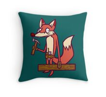 Den Carpenter Throw Pillow
