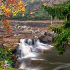 Autumn Waterfalls by KellyHeaton