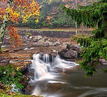 Autumn Waterfalls by KellyHeaton