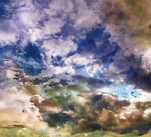Sky Moods 3 , Sea Of Dreams by Glenn McCarthy