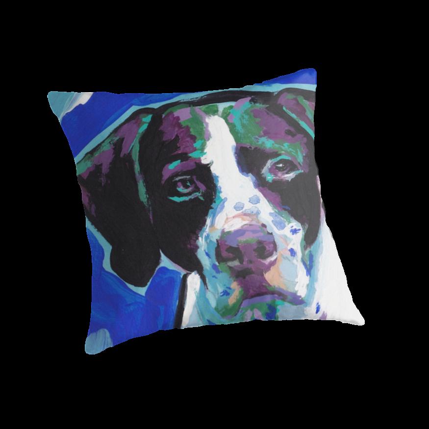 Throw Pillows Dog :