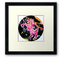 I Believe In A Cure Framed Print