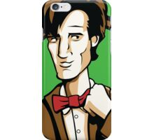 Time Travelers, Series 2 - The 11th Doctor (Alternate) iPhone Case/Skin