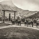 Heading Into The Mountains by Thomas Young