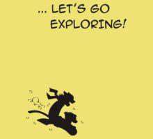 let's go exploring (black) Kids Clothes