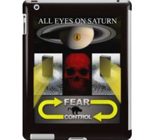 KEEP YOUR EYES ON SATURN iPad Case/Skin