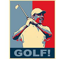 Golf! Hope Photographic Print