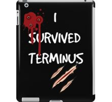 I survived terminus (Black version) iPad Case/Skin