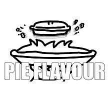 Pie Flavour  - ASDFMOVIE Photographic Print
