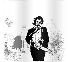 Leatherface defender of the queer Poster