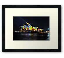 Where The Stars Are, Vivid Festival, Sydney 2013 Framed Print