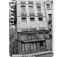 Paris 1975 a forgotten past and now destroyed  Olao-Olavia by Okaio Créations   n2 (h) iPad Case/Skin