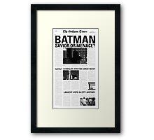 TheGothamTimes Framed Print