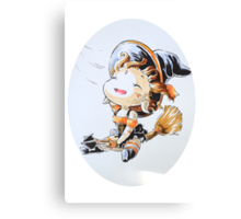 Nidalee, the chibi Halloween cat Canvas Print