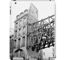 Paris 1975 a forgotten past and now destroyed  Olao-Olavia by Okaio Créations   n5 (h) iPad Case/Skin