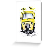 Tuk Tuk 01 Greeting Card