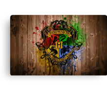 hogwarts university Canvas Print