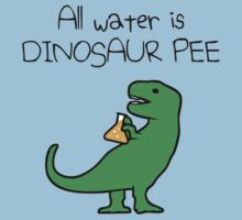 All Water Is Dinosaur Pee (T-Rex) by jezkemp