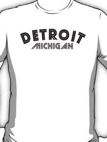 Detroit Michigan T-Shirt