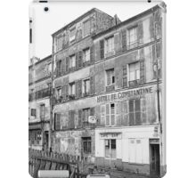 Paris 1975 a forgotten past and now destroyed  Olao-Olavia by Okaio Créations   n12 (h) iPad Case/Skin