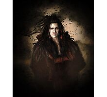 Black Feather Crow Clan Photographic Print