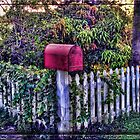 The Red Mail Box by GolemAura