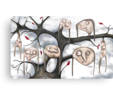 The Strangest Tree I Ever Did See...! Canvas Print