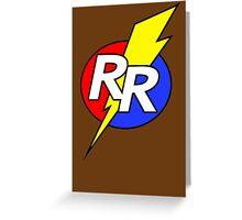 Rescue Rangers Logo Greeting Card